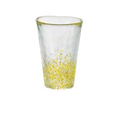 日本津輕 手作黃點飲料杯