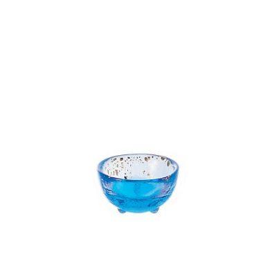 日本津輕 手作藍金沙清酒杯