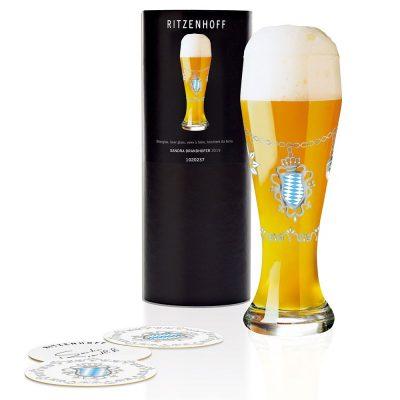 德國 RITZENHOFF WEIZEN 小麥胖胖啤酒杯-歡樂節慶