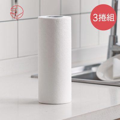 SHIMOYAMA_可水洗重複用吸水吸油:擦碗:擦臉萬用紙巾-3捲組-1