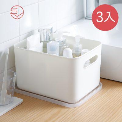 SHIMOYAMA_無印風霧面附蓋把手收納盒-L-3入-1