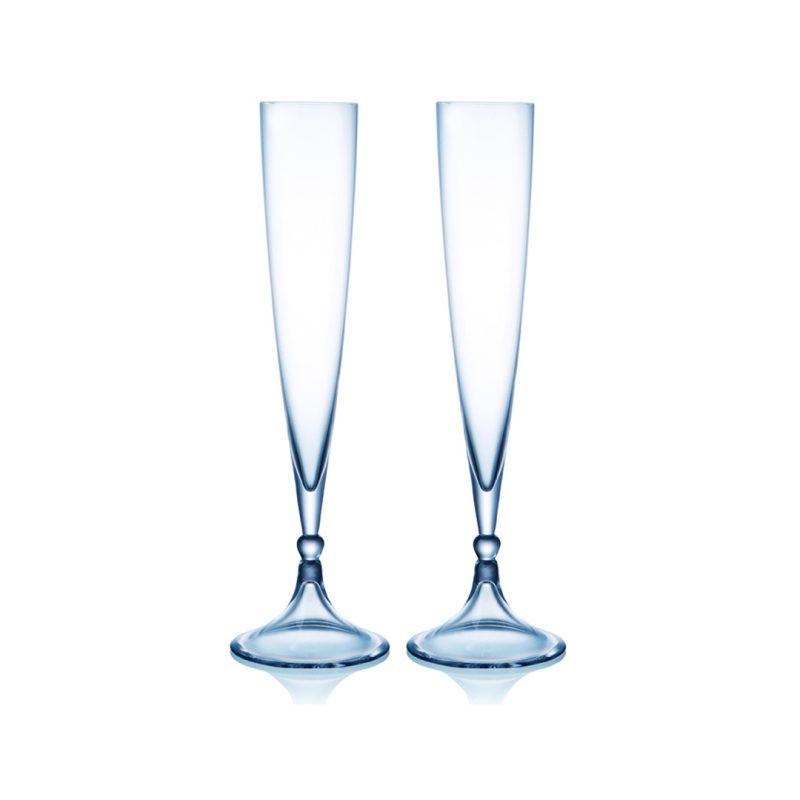歐洲 ROGASKA 水晶玻璃 REMEMBRANCE 回憶 香檳杯 2支裝