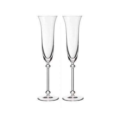 歐洲 ROGASKA 水晶玻璃 SPRING 春神 香檳杯 2支裝