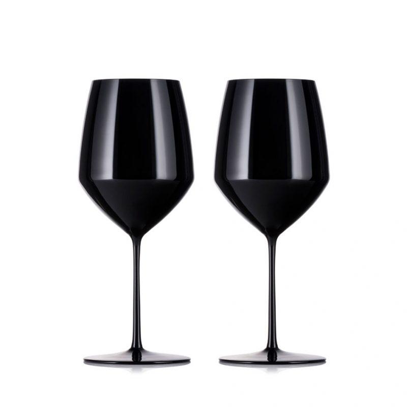 歐洲 ROGASKA 水晶玻璃 EXPERT 行家品味 紅酒杯(黑) 2支裝