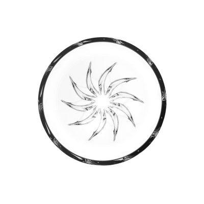 歐洲 ROGASKA 水晶玻璃 LIVE.LOVE.SPARKLE 璀璨生活 太陽碗 12cm
