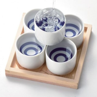 日本 美濃燒 蛇目清酒杯 60ml