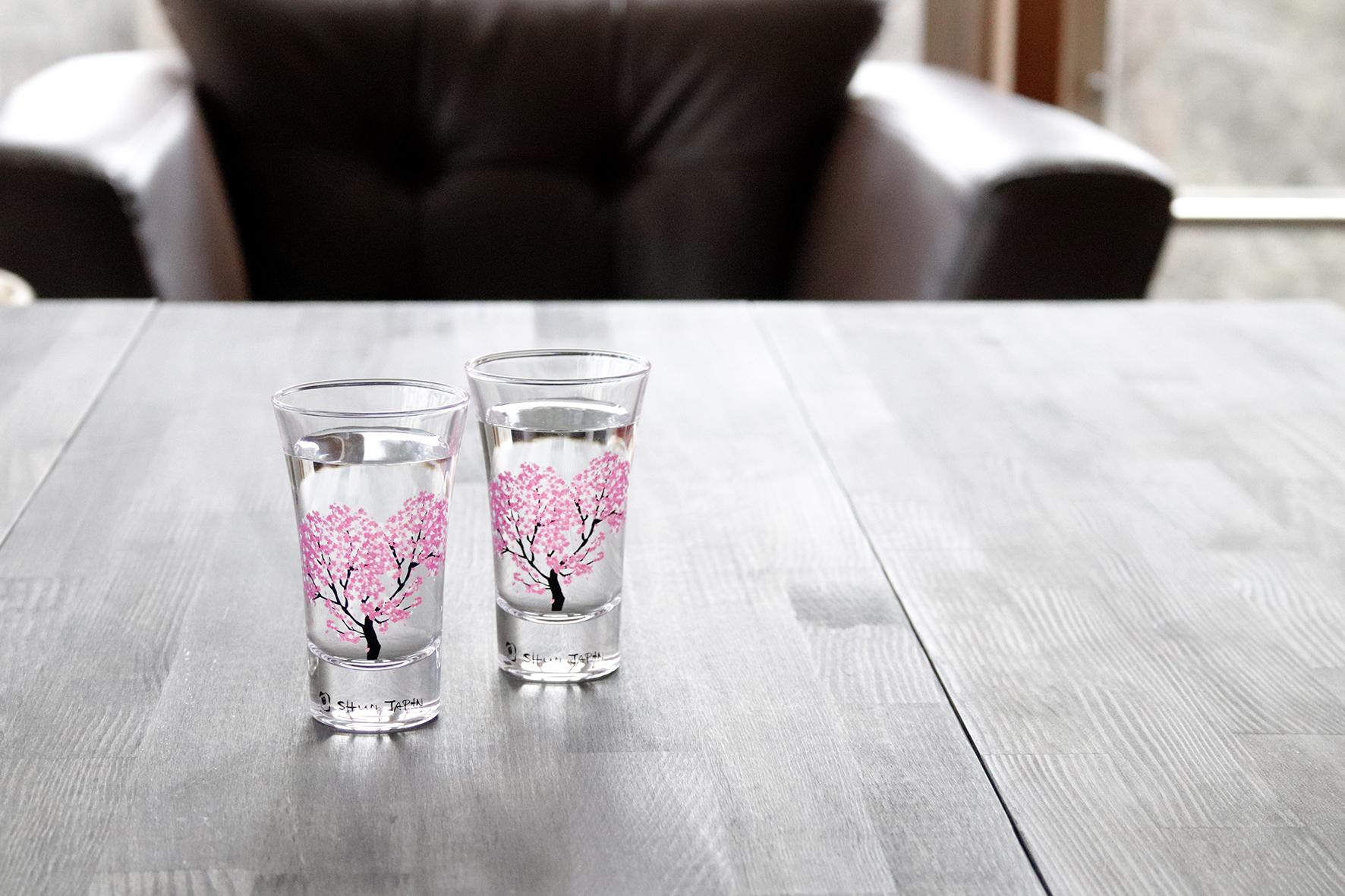 日本 高木陶器 櫻滿開冷感高杯