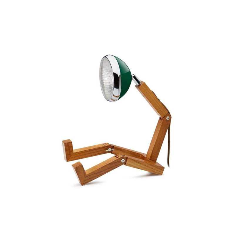 Soyee 梣木 MINI-LED 迷你機器人桌燈 (奇爾特恩綠)