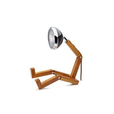 Soyee 梣木 MINI-LED 迷你機器人桌燈 (時尚黑)