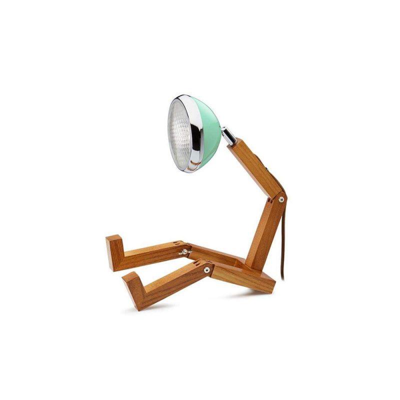 Soyee 梣木 MINI-LED 迷你機器人桌燈 (蒂芬妮綠)