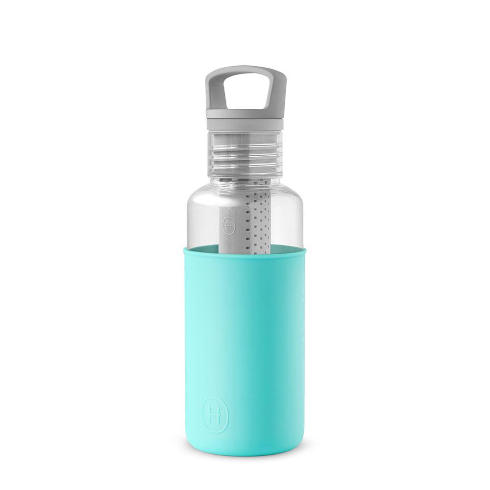 美國 HYDY 輕靚系列 透明冷水瓶 590ml 透明瓶 (北極藍)