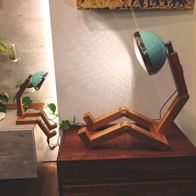 Lamp梣木機器人燈