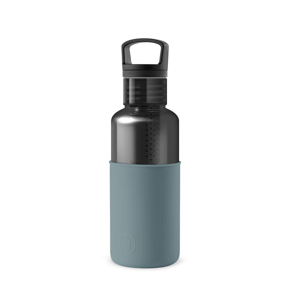美國 HYDY 輕靚系列 透明冷水瓶 590ml 碳黑瓶 (亞得里亞海)
