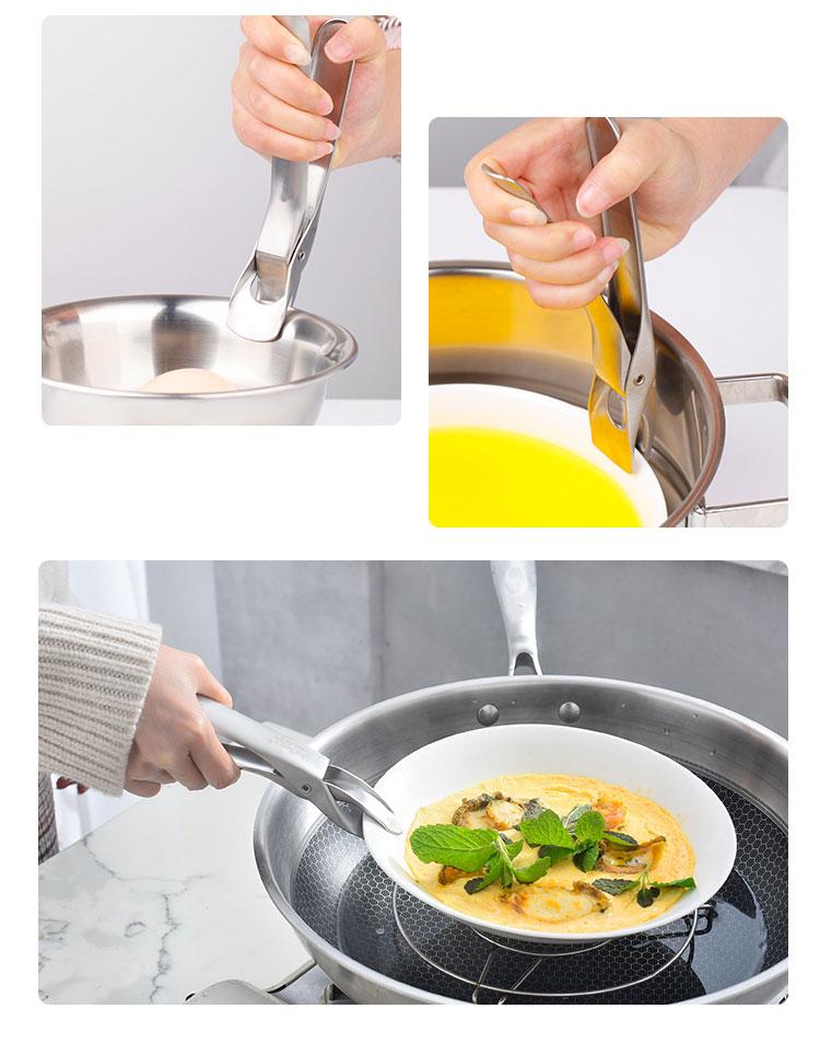德國 Plazotta 304不鏽鋼碗夾