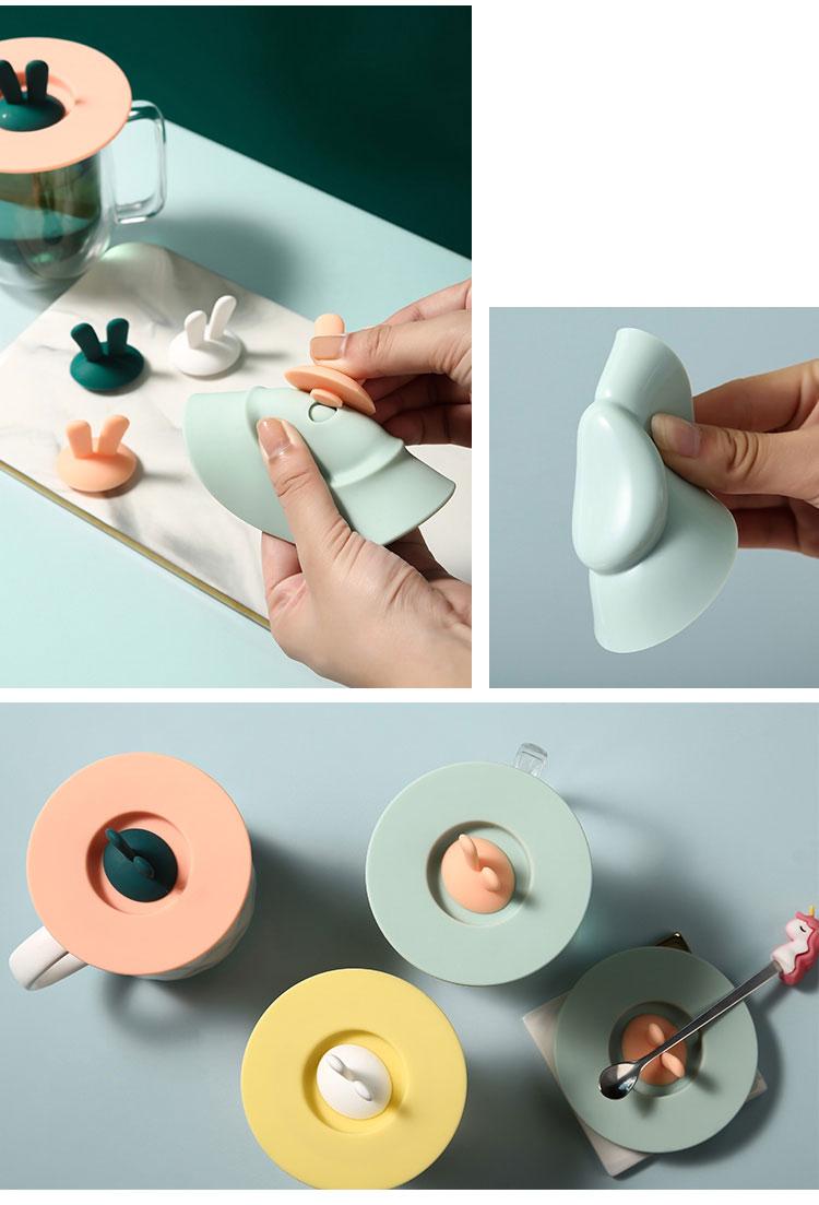 德國 Plazotta 圓形矽膠杯蓋