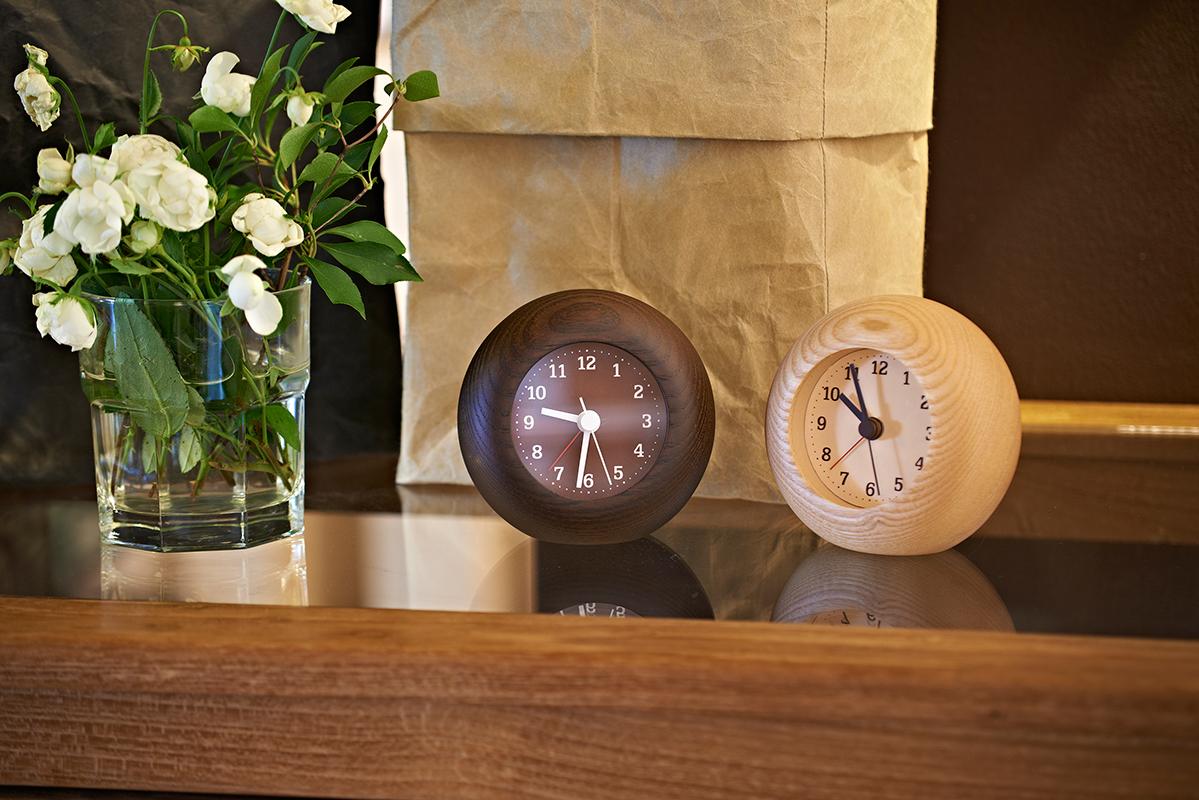 日本 Lemnos Rest 方形 鬧鐘 (咖啡)