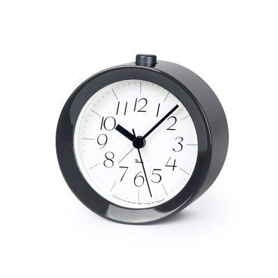 日本 Lemnos 渡邊力 Riki Alarm 鬧鐘 (鋼琴灰)