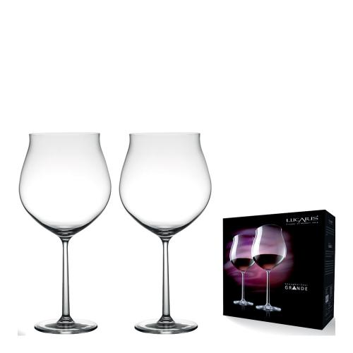Lucaris 上海系列特大Grand勃根地紅酒杯-975ml (2入禮盒組)