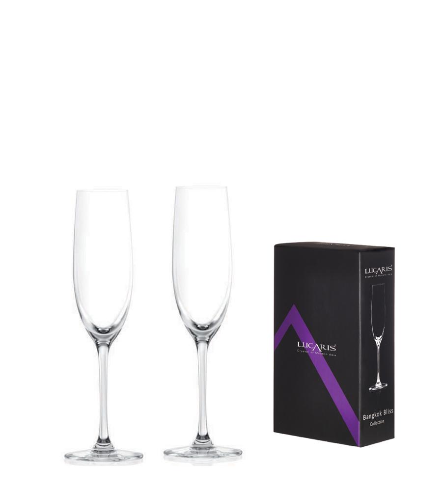 Lucaris 曼谷系列香檳酒杯-180ml (2入禮盒組)