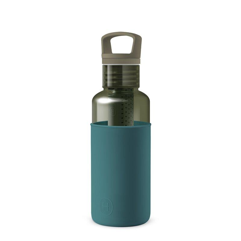 美國 HYDY 輕靚系列 透明冷水瓶 590ml 森綠瓶 (孔雀綠)