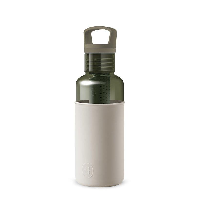 美國 HYDY 輕靚系列 透明冷水瓶 590ml 森綠瓶 (尤加利)