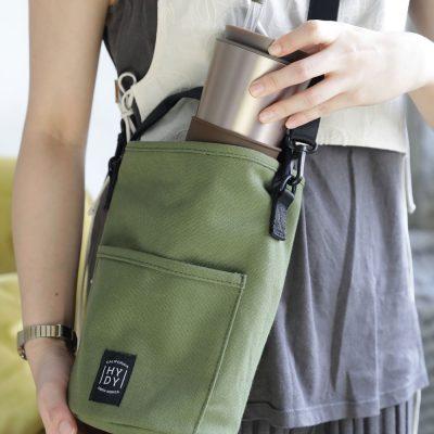 美國 HYDY 水瓶專用 斜肩包 (軍綠色)