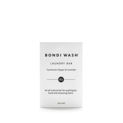 澳洲 BONDI WASH 塔斯曼尼亞胡椒及薰衣草衣物去漬皂 100g