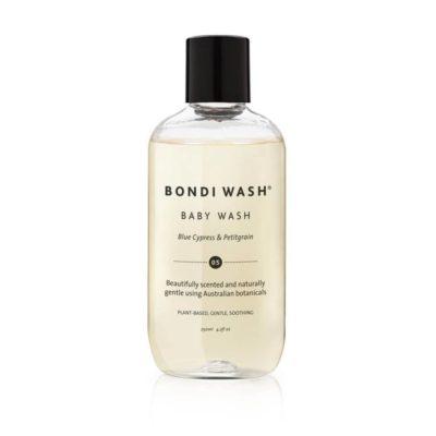 澳洲 BONDI WASH 藍絲柏&苦橙葉寶寶洗髮沐浴露 250ml