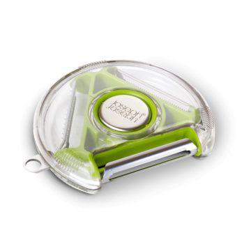 3in1旋轉削皮器(Green)-Top