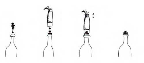 L'Atelier du Vin 金屬真空保存組