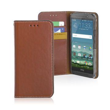 JTL HTC One M9古著側掀式真皮皮套經典款(4色)