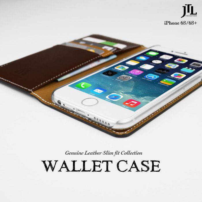 JTL iPhone 6S 古著側掀式真皮皮套經典款