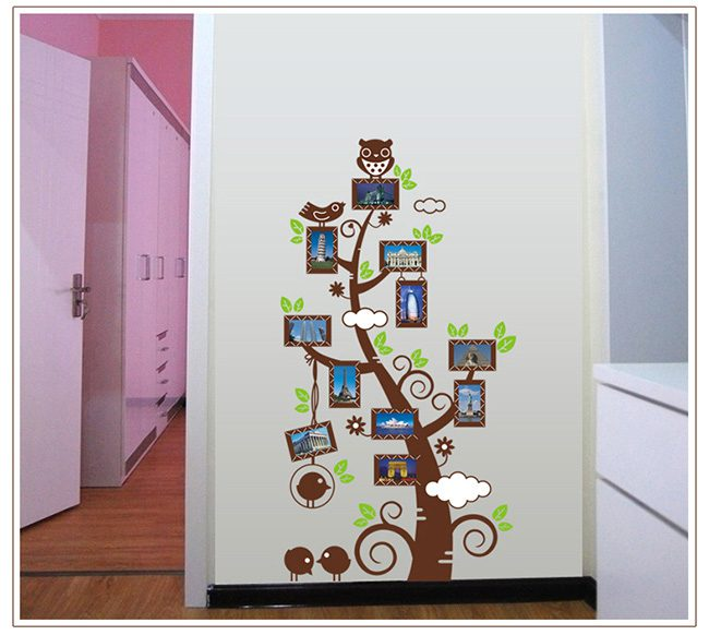 JB-Design 時尚壁貼 相片樹