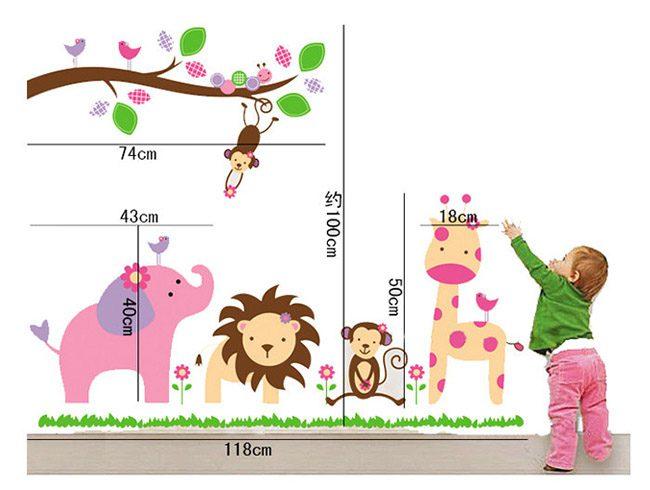 JB-Design 時尚壁貼 歡樂動物園