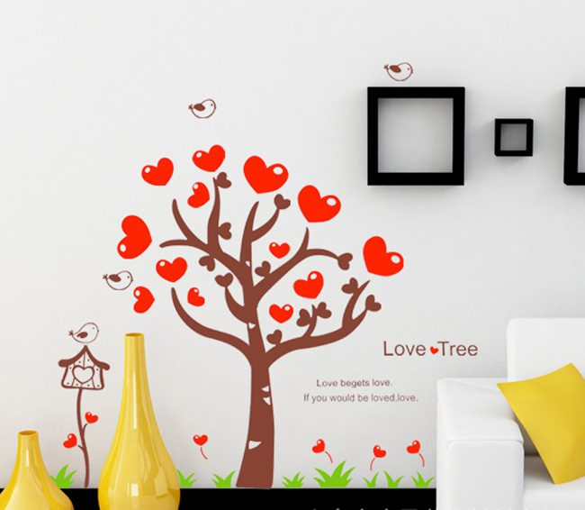 JB-Design 時尚壁貼 愛心樹