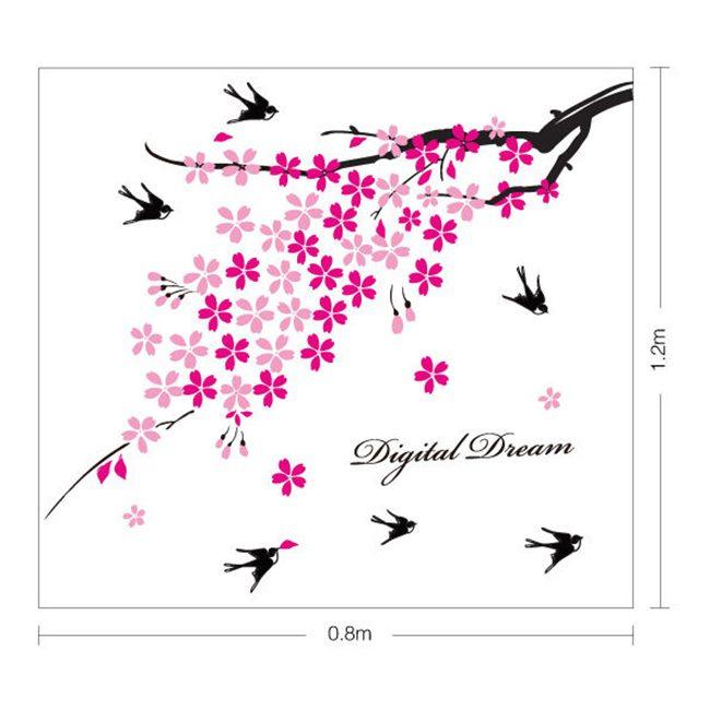 JB-Design 時尚壁貼 支頭飛雁